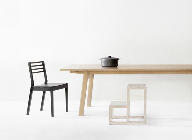 Cafe Basic dining table from Nikari
