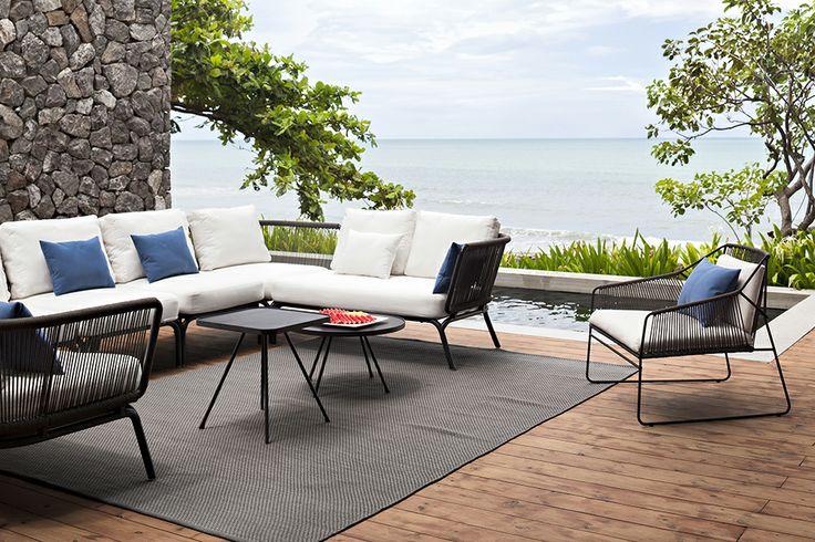 Sandur Outdoor Lounge furniture from Oasiq.