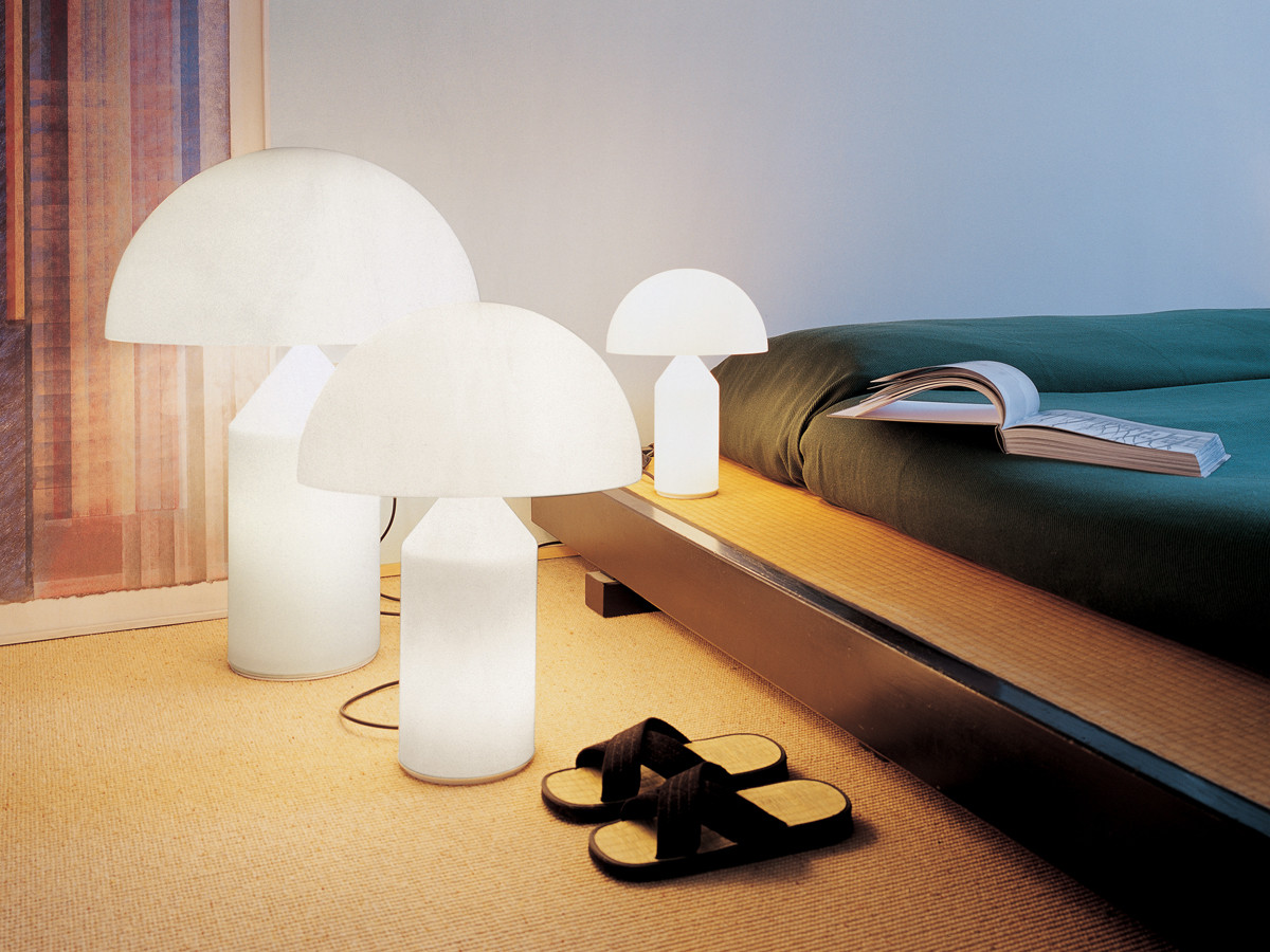 Atollo table lamp from Oluce.