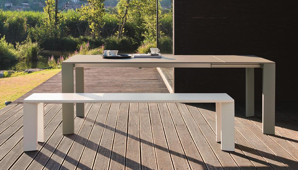 Weishaupl Grande Arche Table and Bench