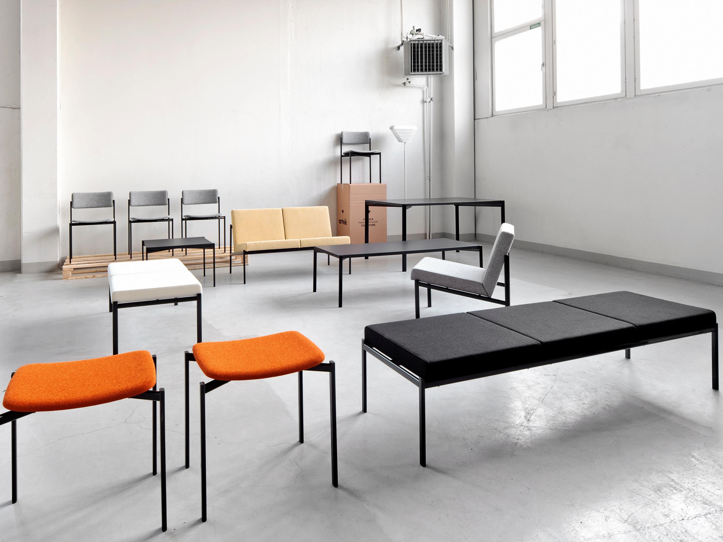 Kiki Bench and Sofa by Ilmari Tapiovaara for Artek