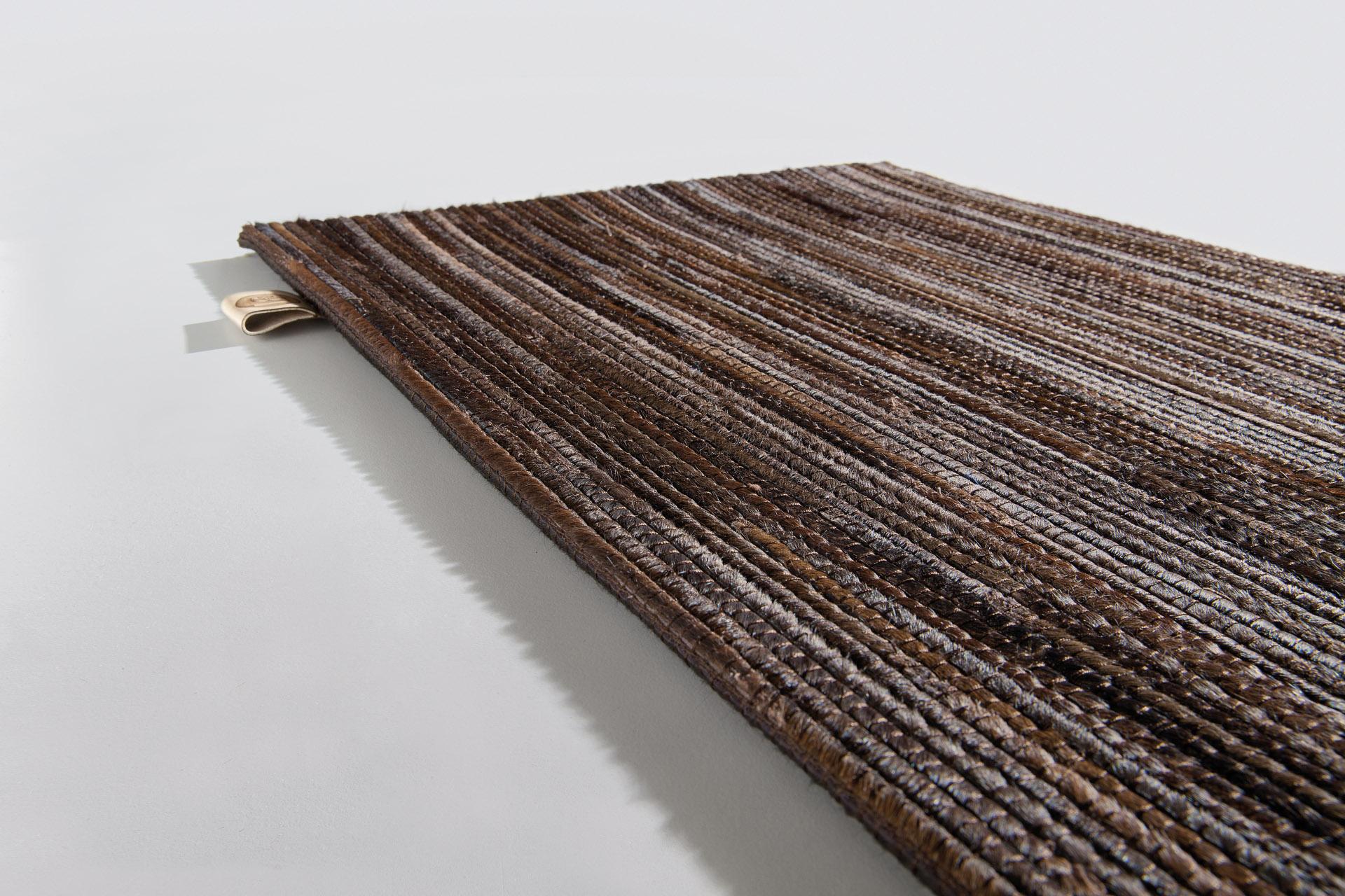 Fine Hair on Hide area rug Limited Edition.