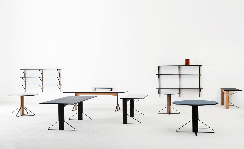 Artek Table series by Ronan and Erwan Bouroullec