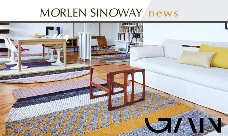 GAN Rugs are available at Morlen Sinoway Atelier - Chicago - including Mangas Originals