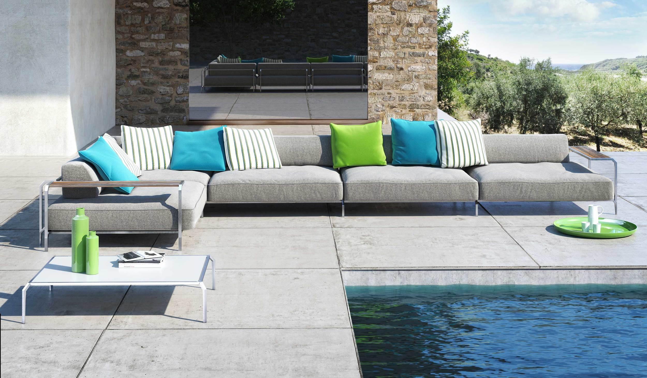 Sabal Outdoor Sofa from Coro Italy