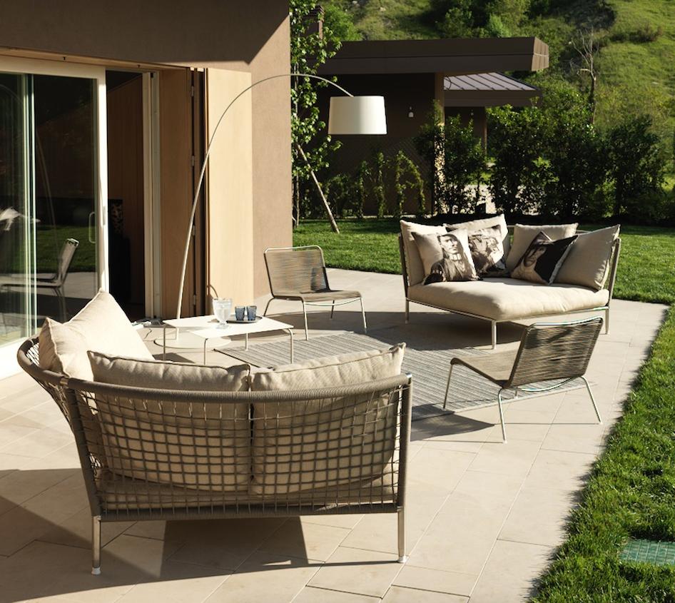 Jubeae and Nest Sofa from Coro Italy.