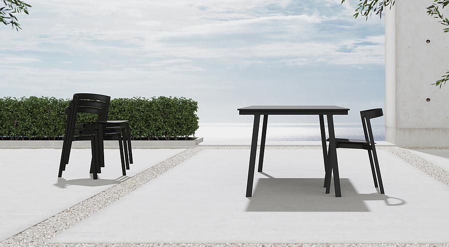 VUUE Mornington Table and Mornington Chair