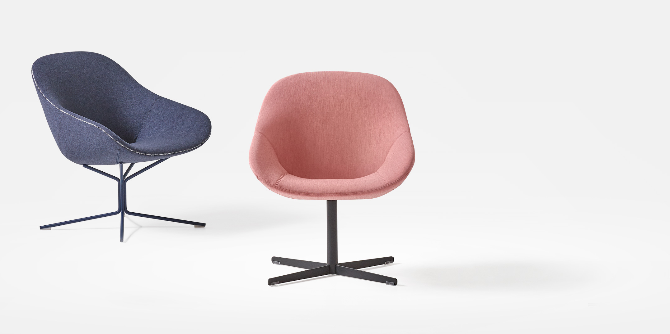 Beso Lounge Chair by Khodi Feiz -  starting price is $1,445 List with   non-swiveling, star base