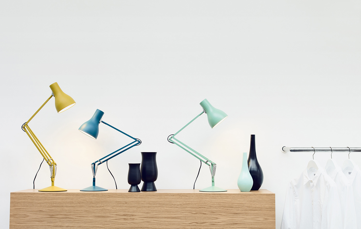 Type 75 Desk lamp by Anglepoise, colors by Margaret Howell
