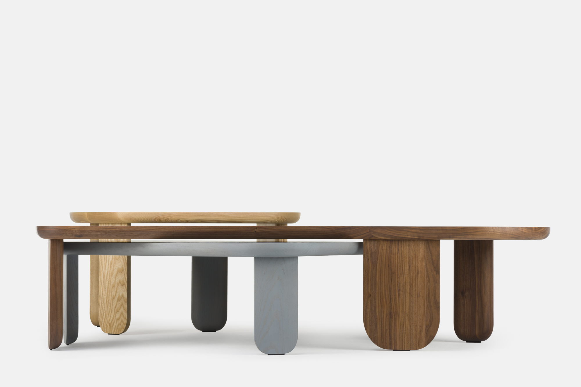 Kim occasional tables by Nichetto