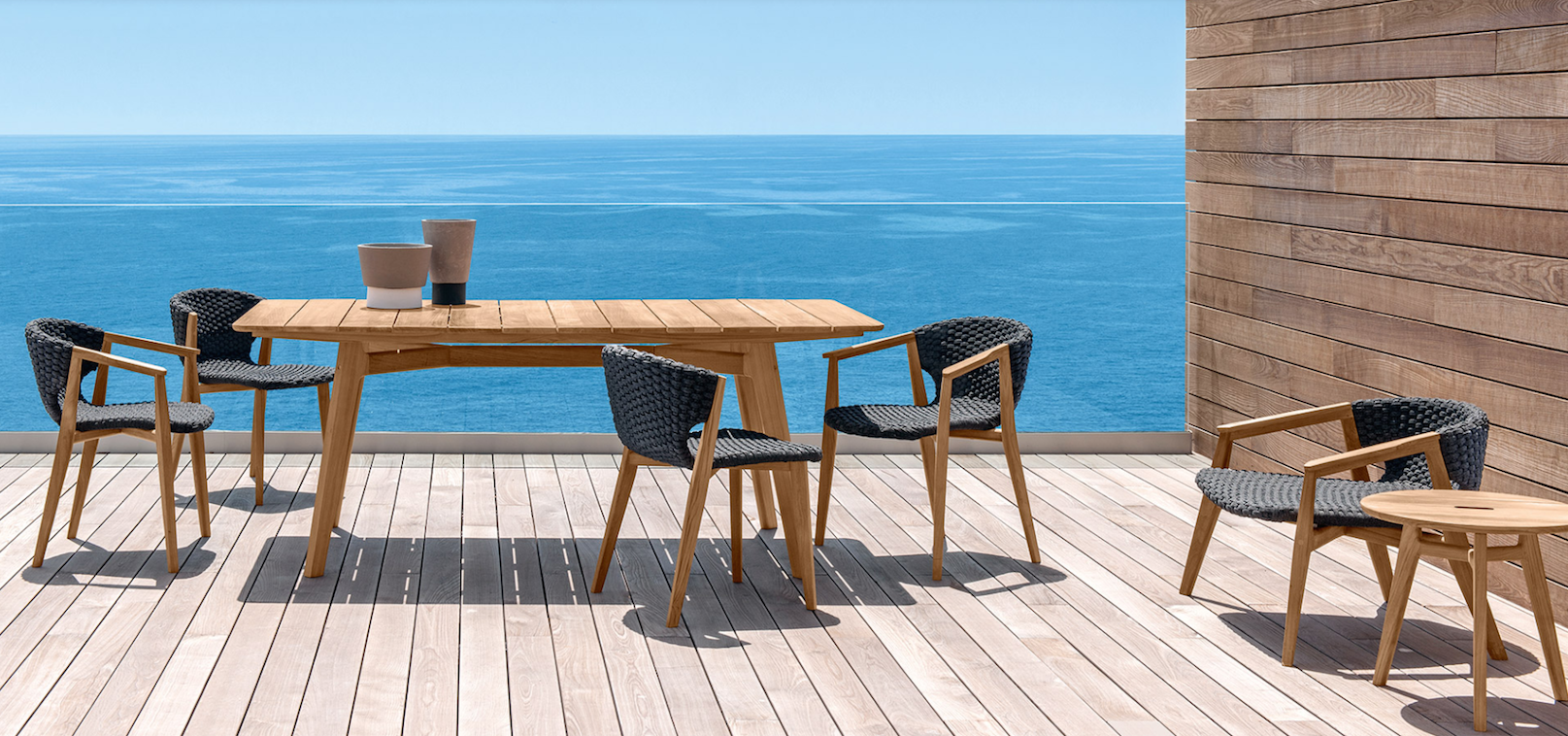 Knit collection from Ethimo Outdoor Furniture