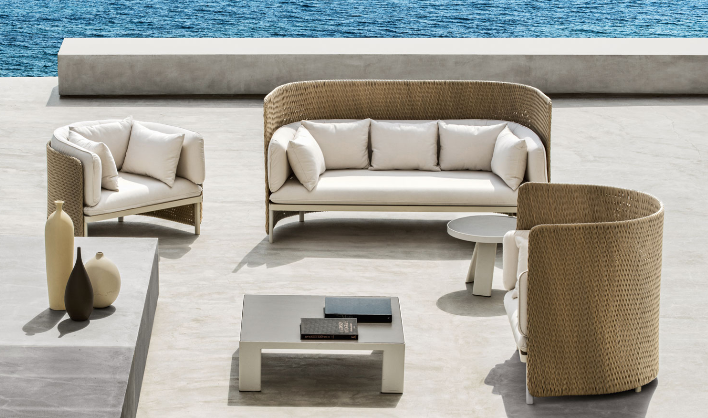 Esedra Outdoor Lounge furniture from Ethimo