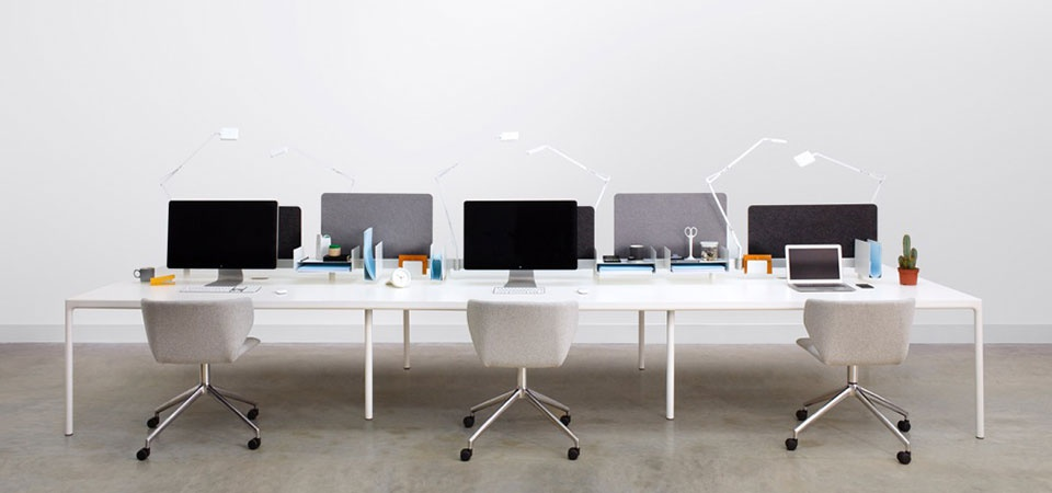 Modus Edge table and Hold Swivel Chair at Morlen Sinoway
