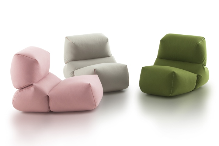 Grapy Soft Seat by Kensaku Oshiro for GAN