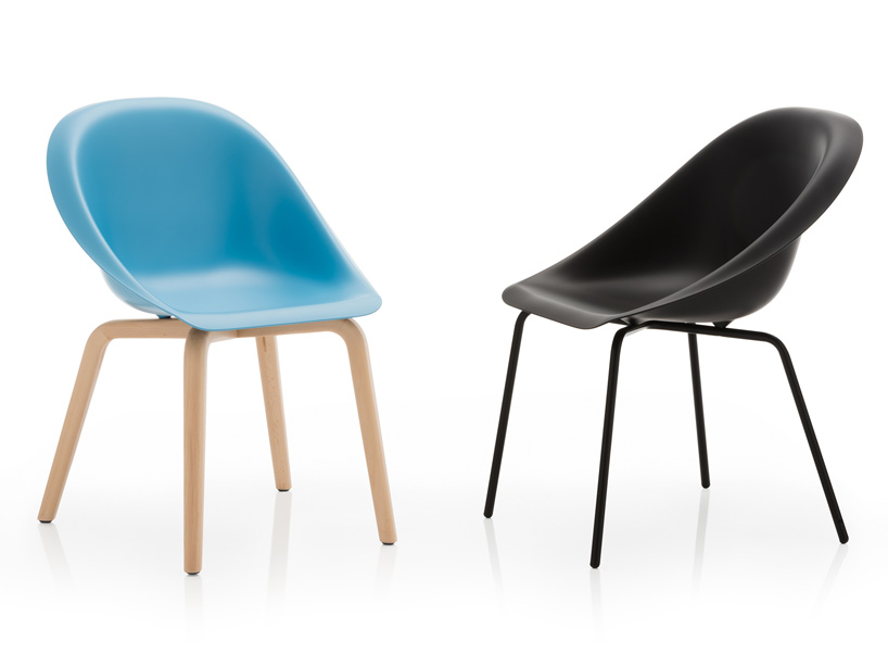 Hoop Chair by Karim Rashid for B-Line