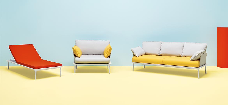 Reva Sun Lounger,   $1,470 List starting price  -or-    Reva Armchair ,  $1,719 List starting price