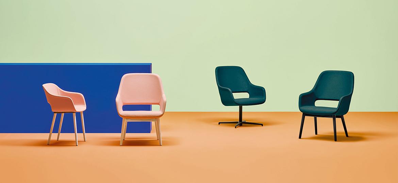 Pedrali Babila Comfort Lounge chairs