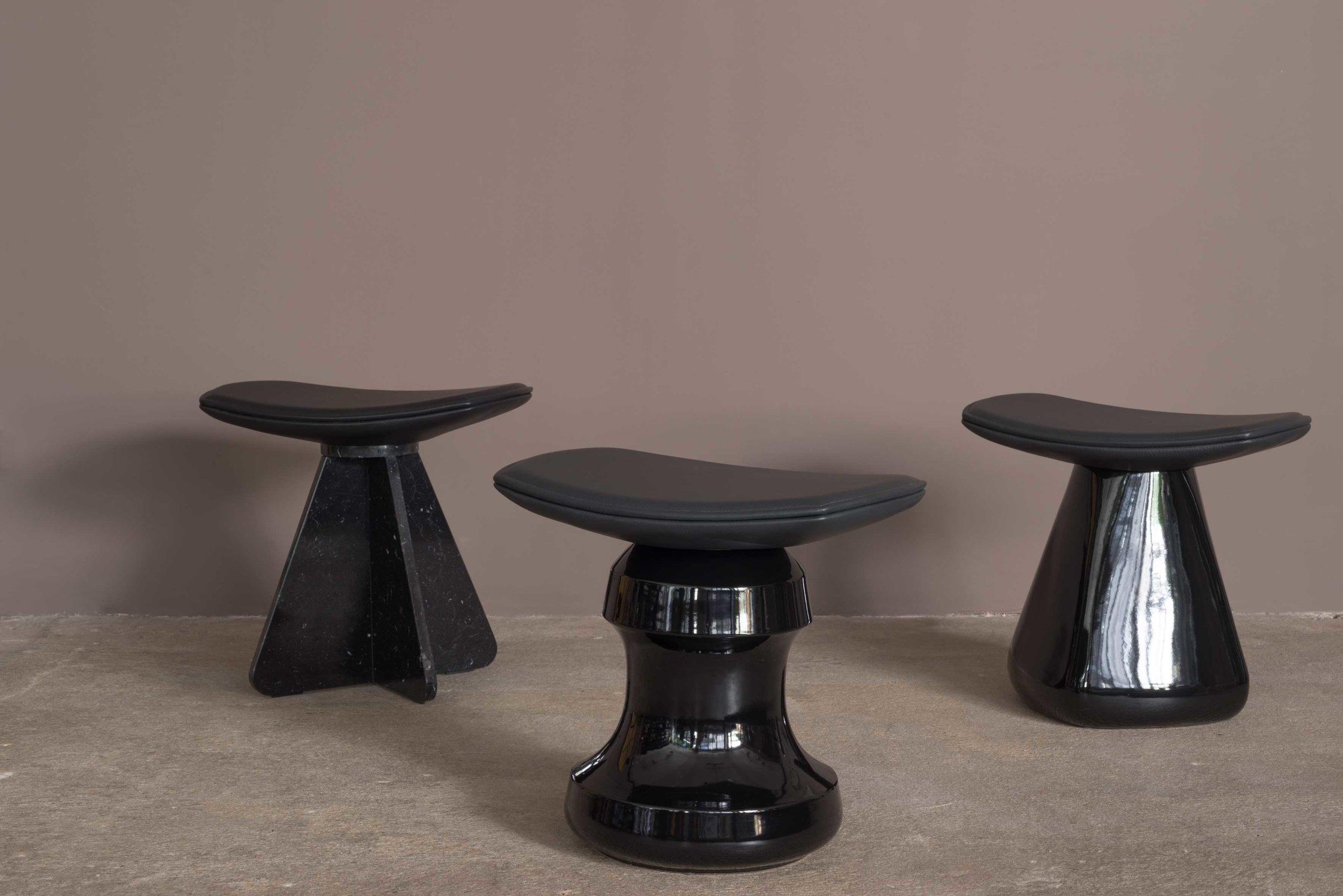 Wan Stool by Jerome Aumont Collection Particuliere