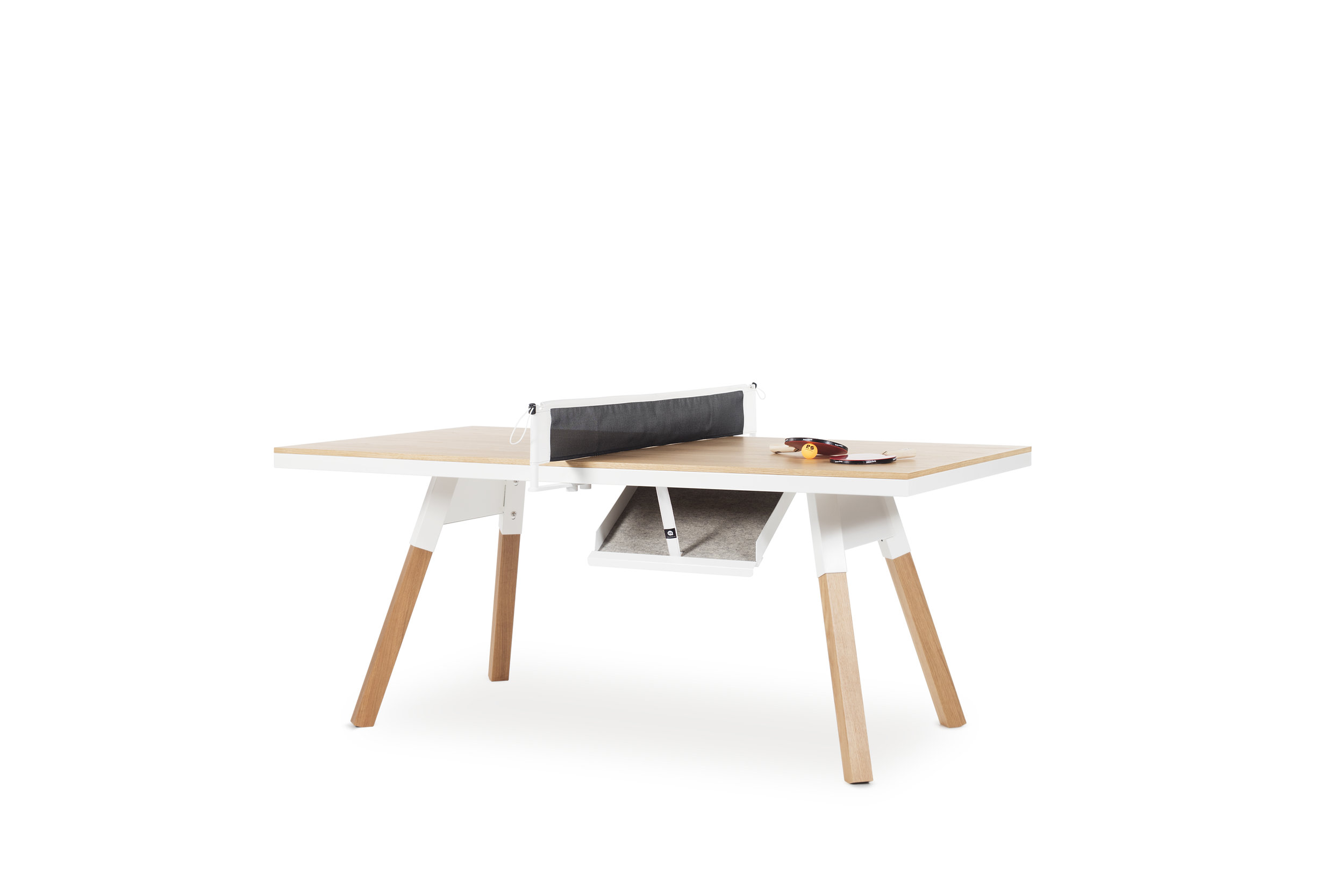 You and Me Ping pong table with Oak top by RS Barcelona
