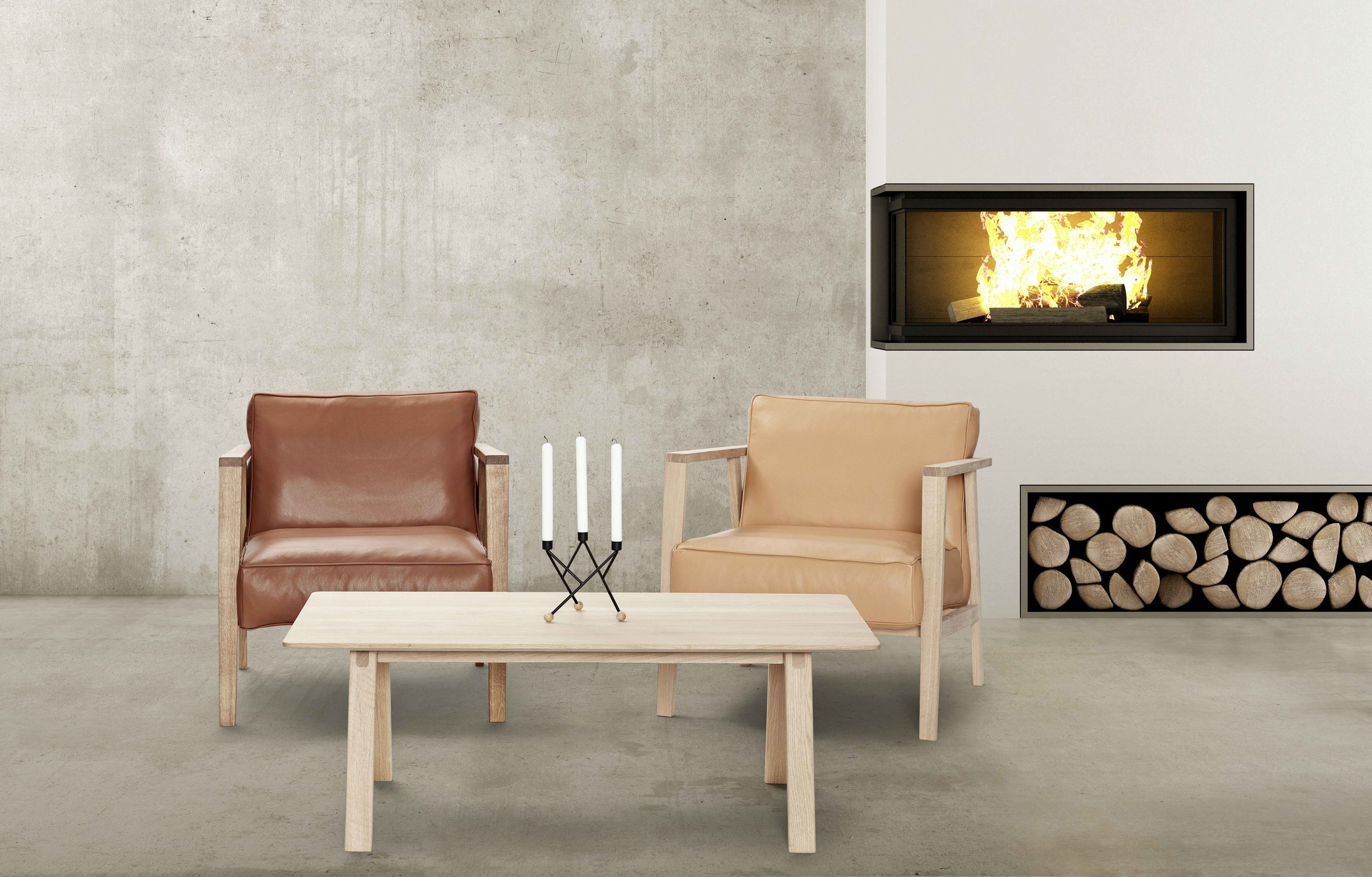 LC1 Armchair from Andersen Furniture