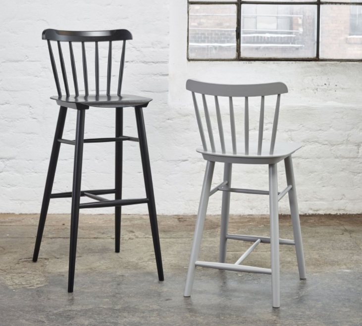 Ironica barstool from TON
