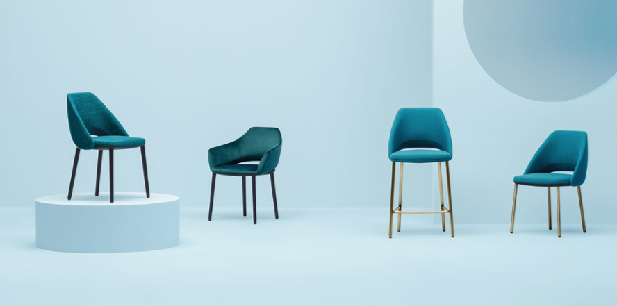Pedrali Vic chair and stool have been updated for 2018