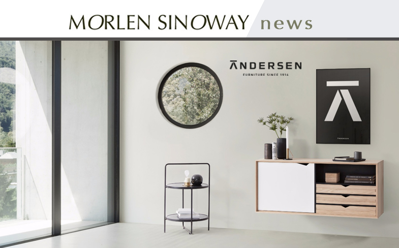 Andersen S2 Console and Andersen Tray Side Table