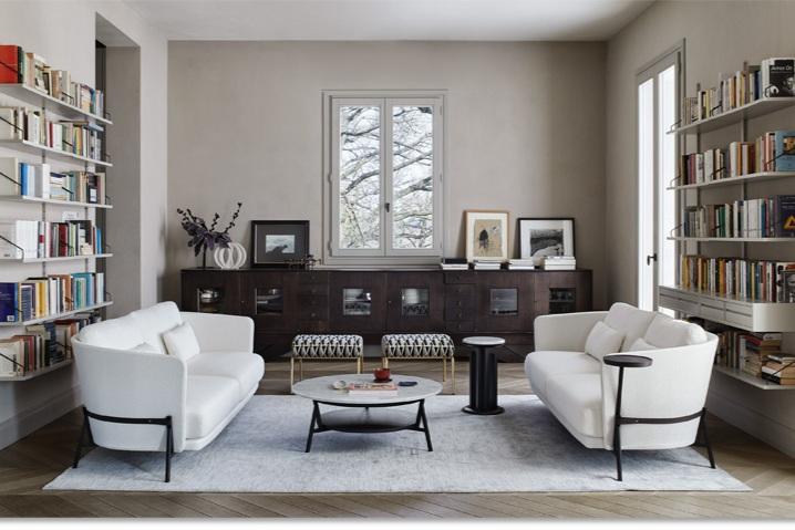Cradle sofa from Arflex