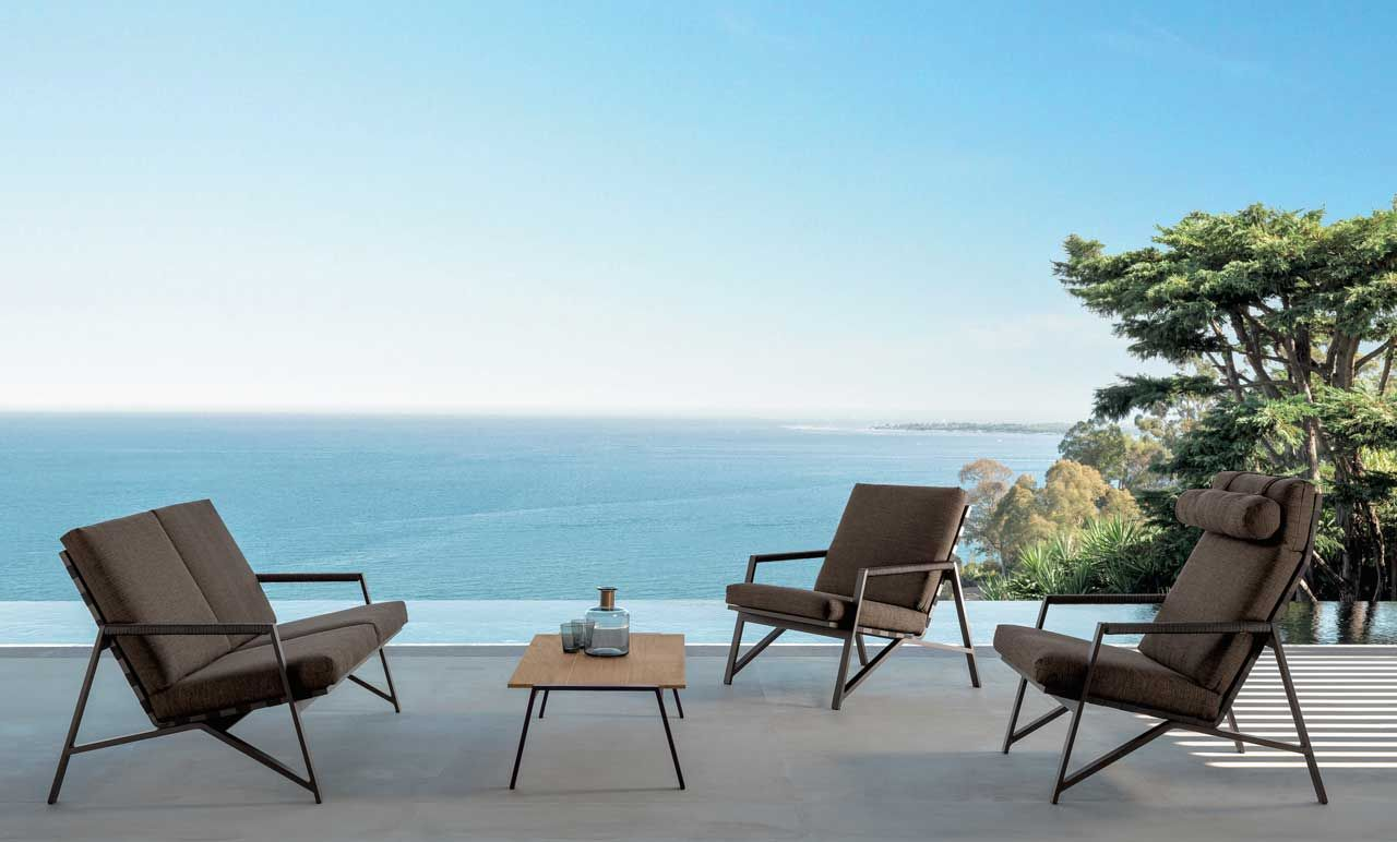 Cottage outdoor furniture collection by Talenti