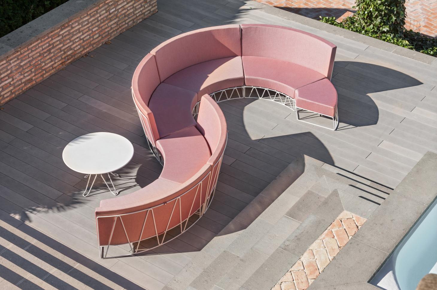 Lagarto Curved Sofa Module,  starting at $2,568 List