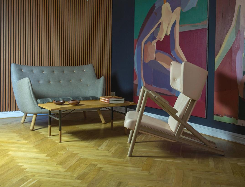 Grasshopper Lounge chair by Finn Juhl