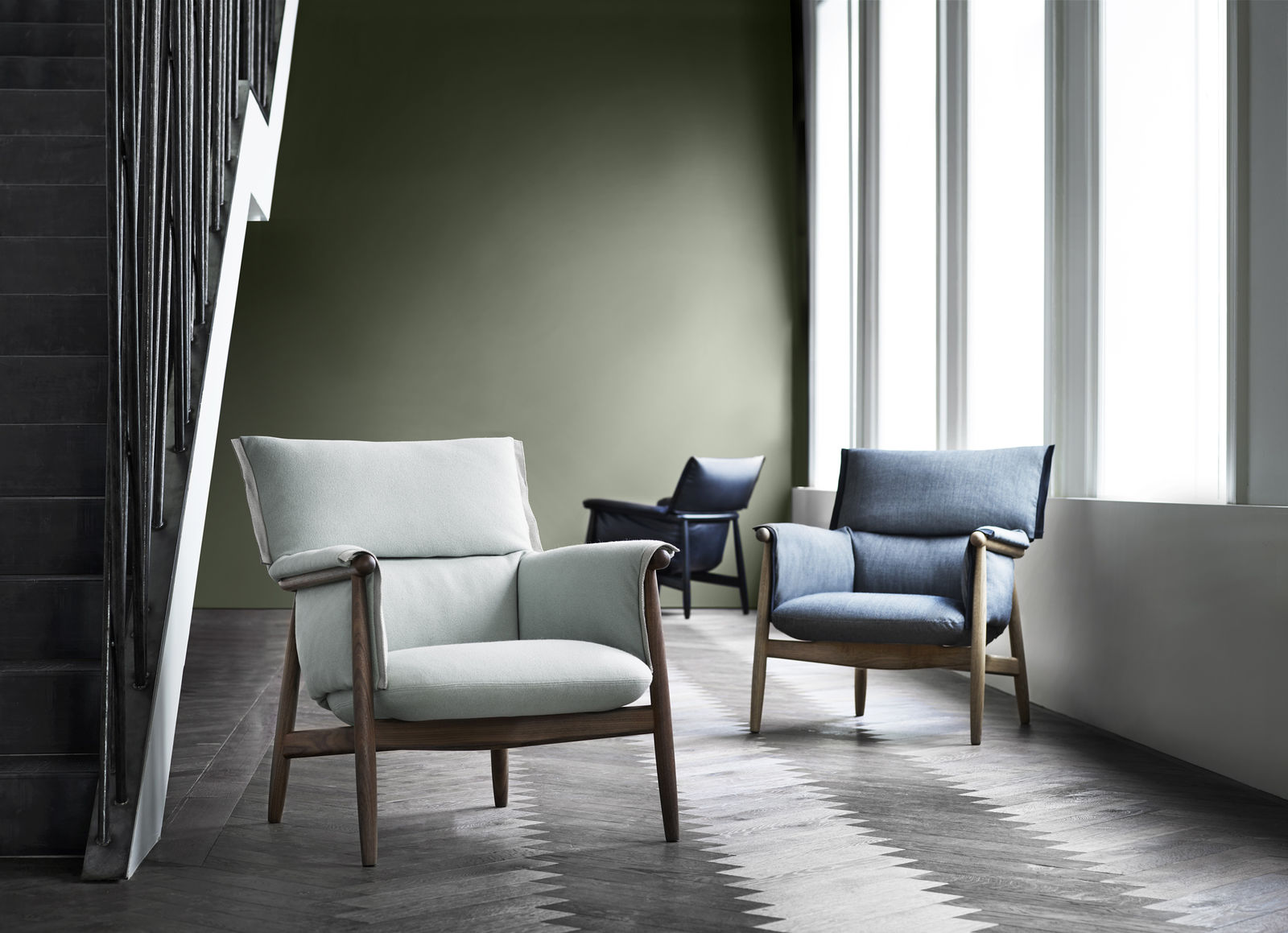 Embrace Lounge chair from Carl Hansen