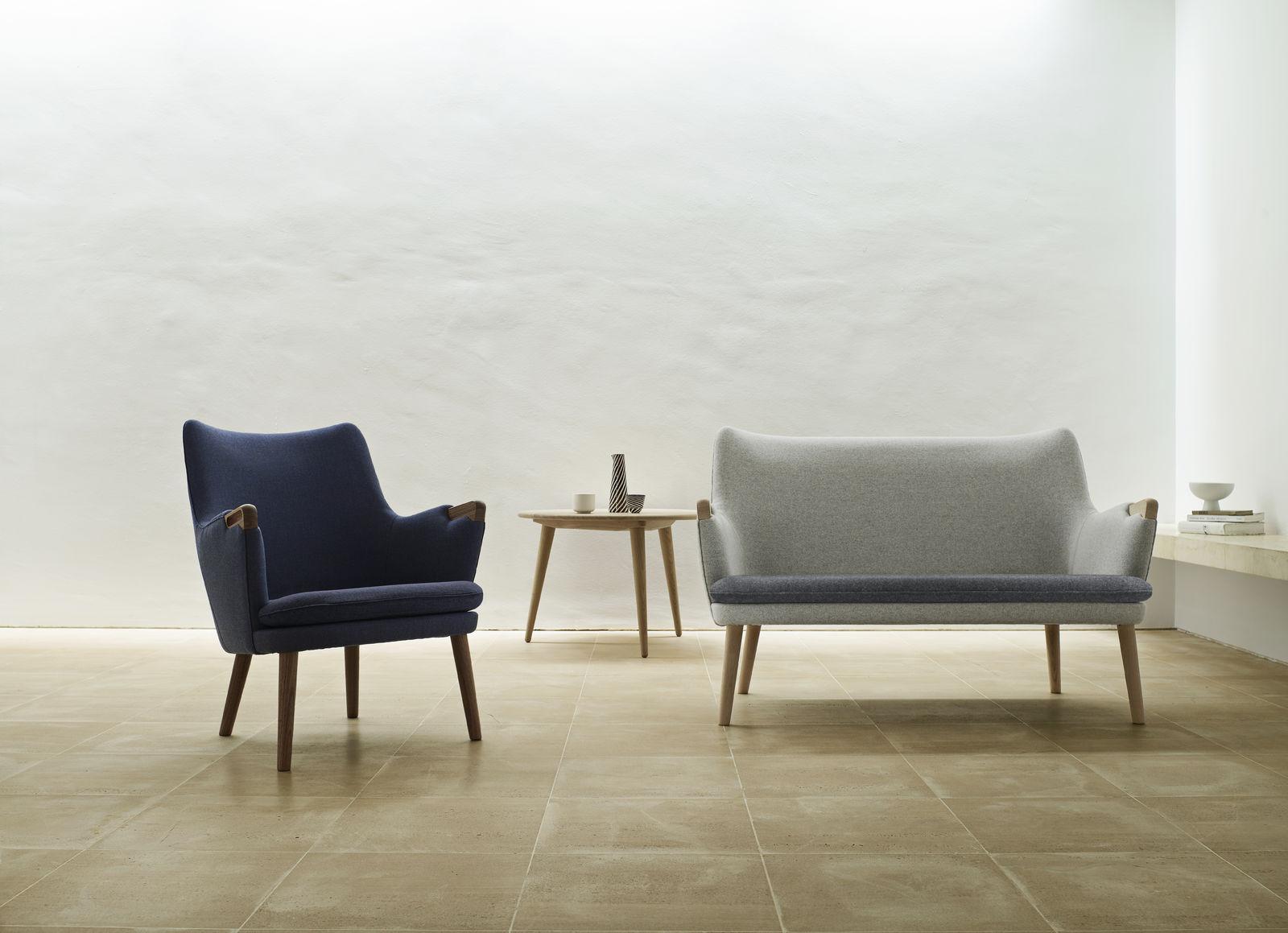 CH71 Lounge chair by Carl Hansen