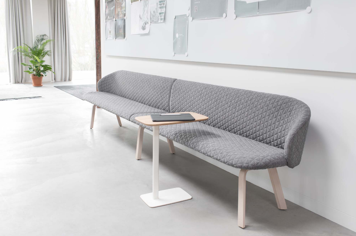 Close bench by Arco + Utensil table by Arco