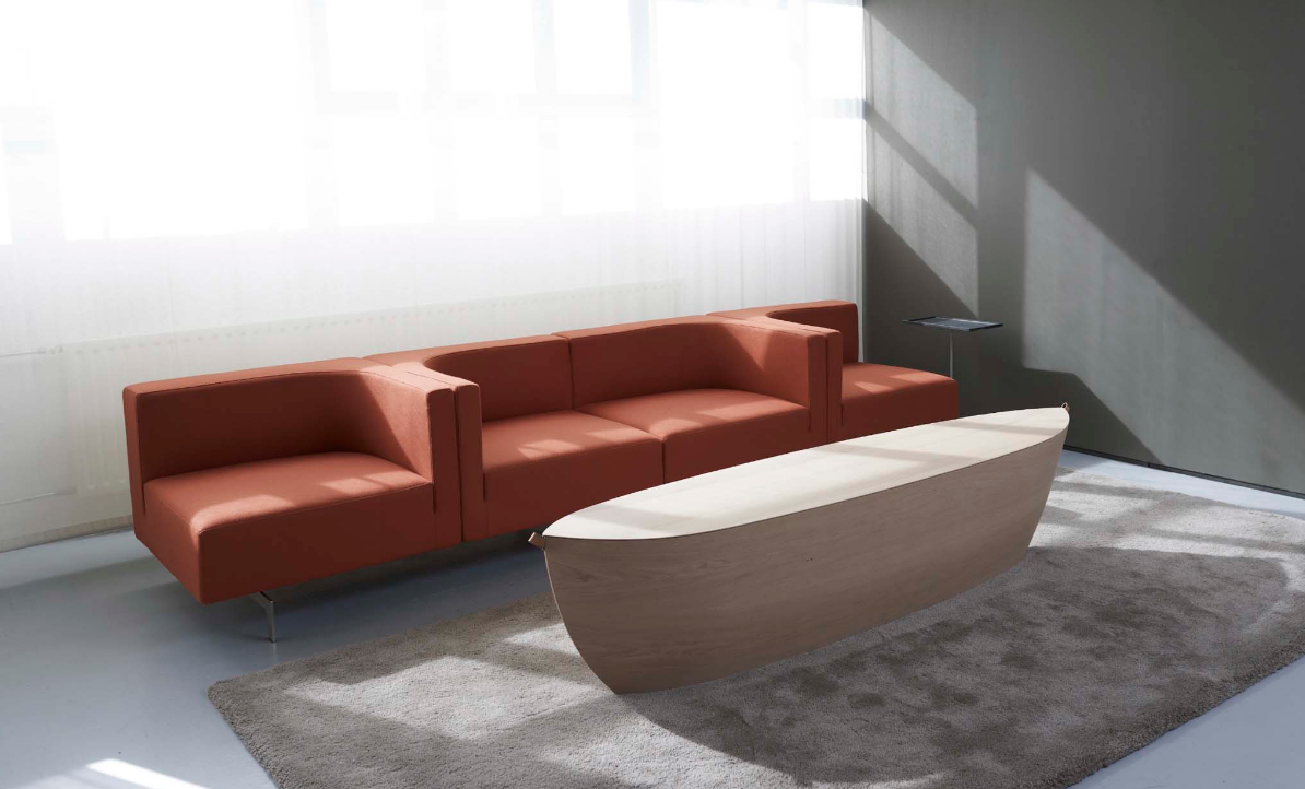 Arc coffee table by Arco