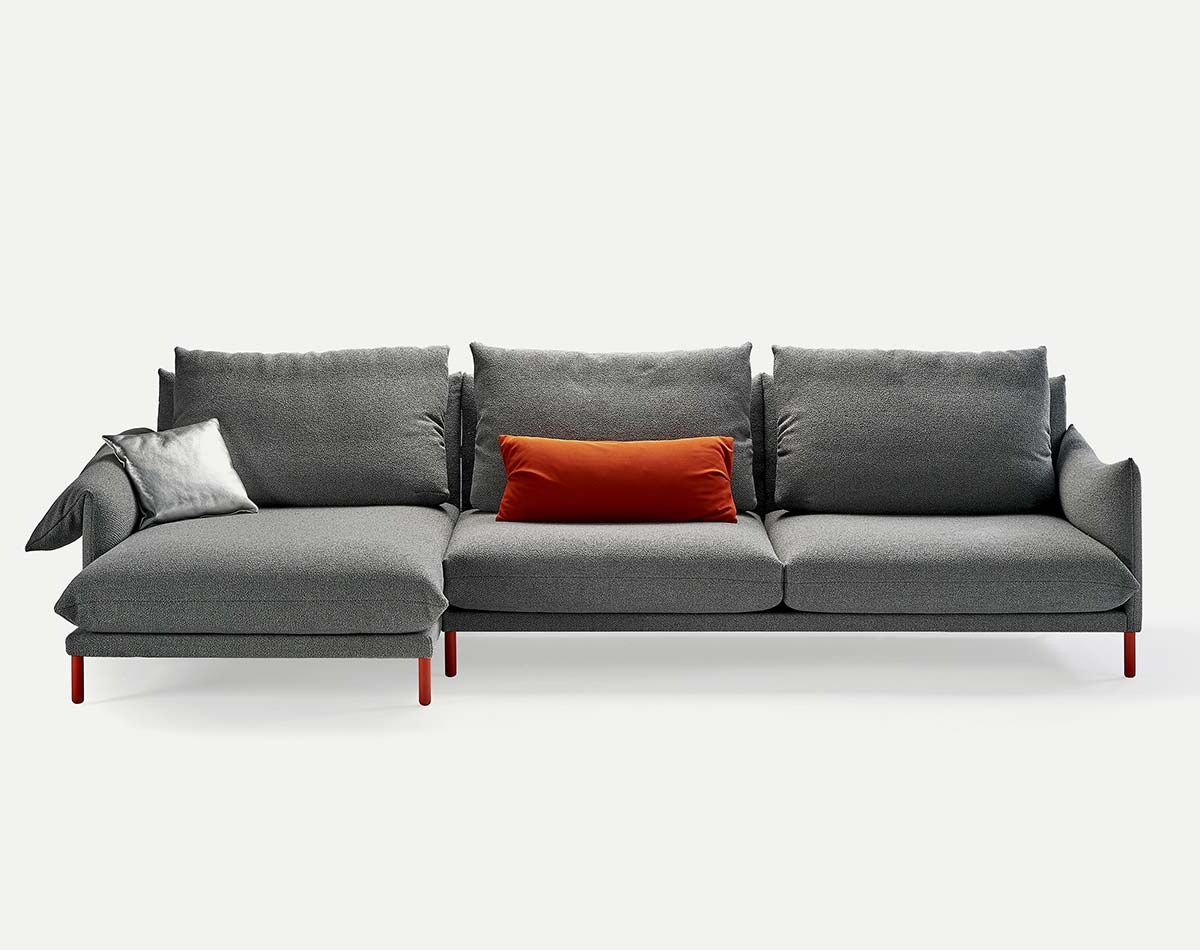 Alpino Sofa with chaise,  starting at $6,733 List