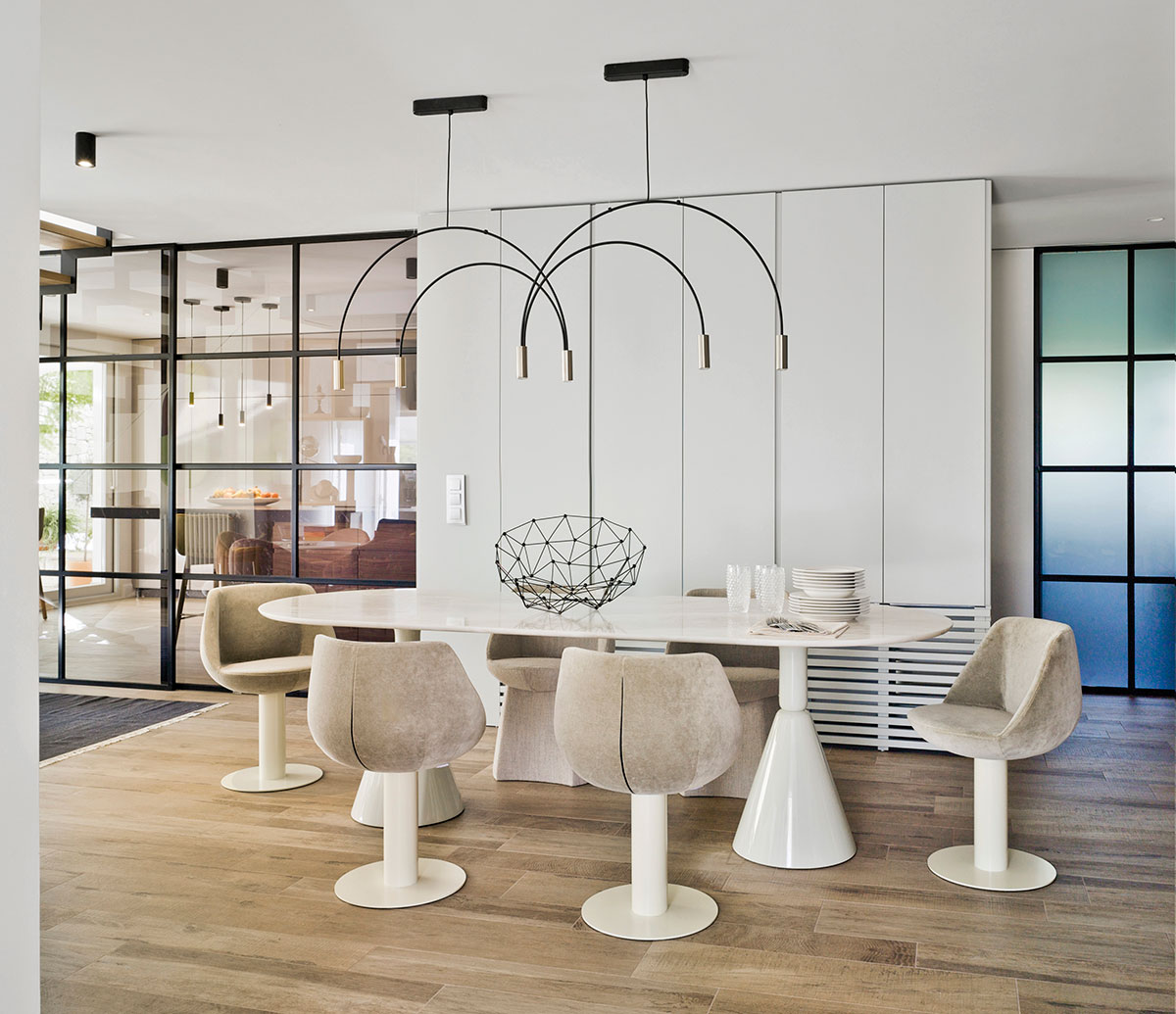 Sancal Magnum dining chair with Pion dining table from Sancal