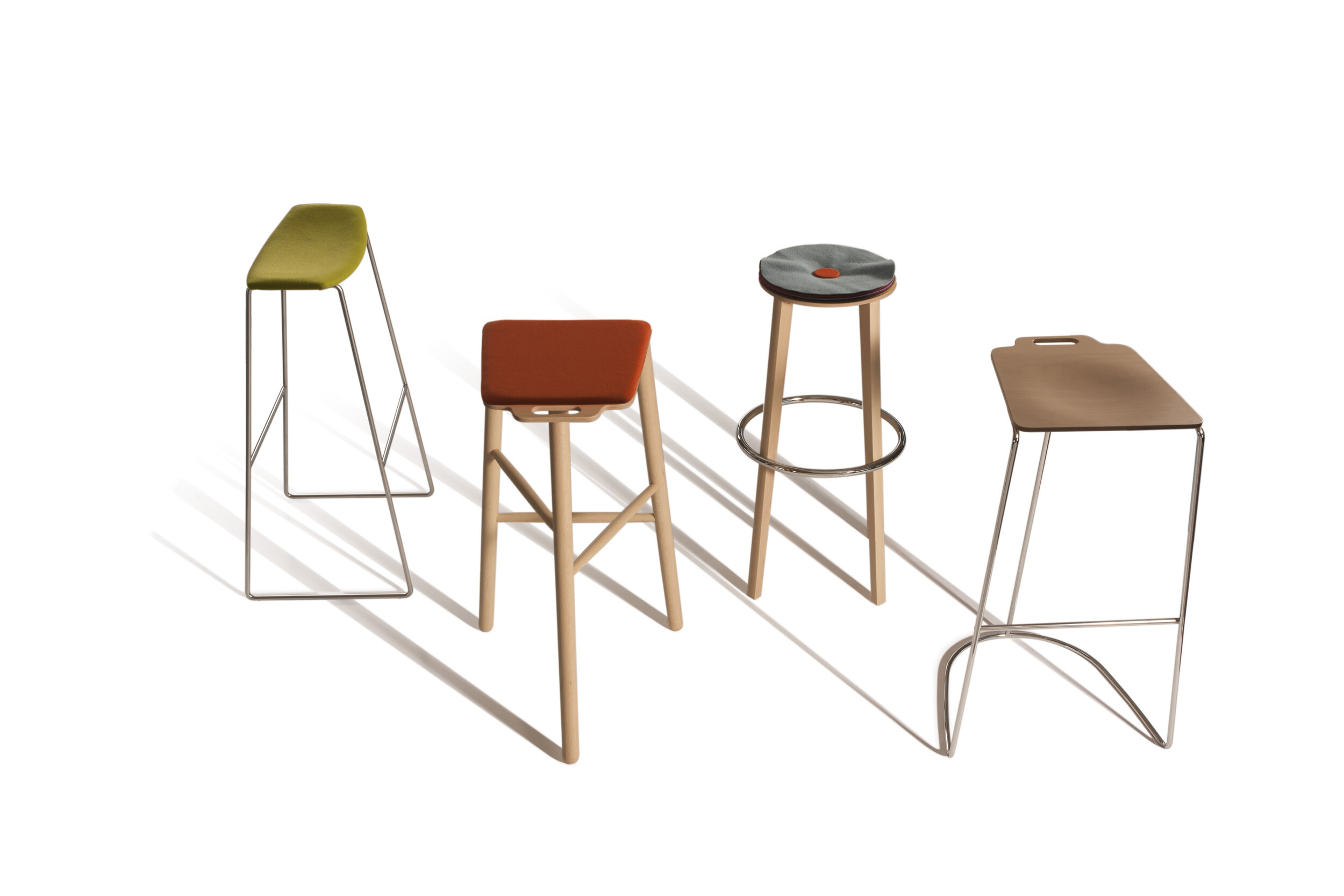 Tic Tac Toe Stools,  starting at $449 List Each