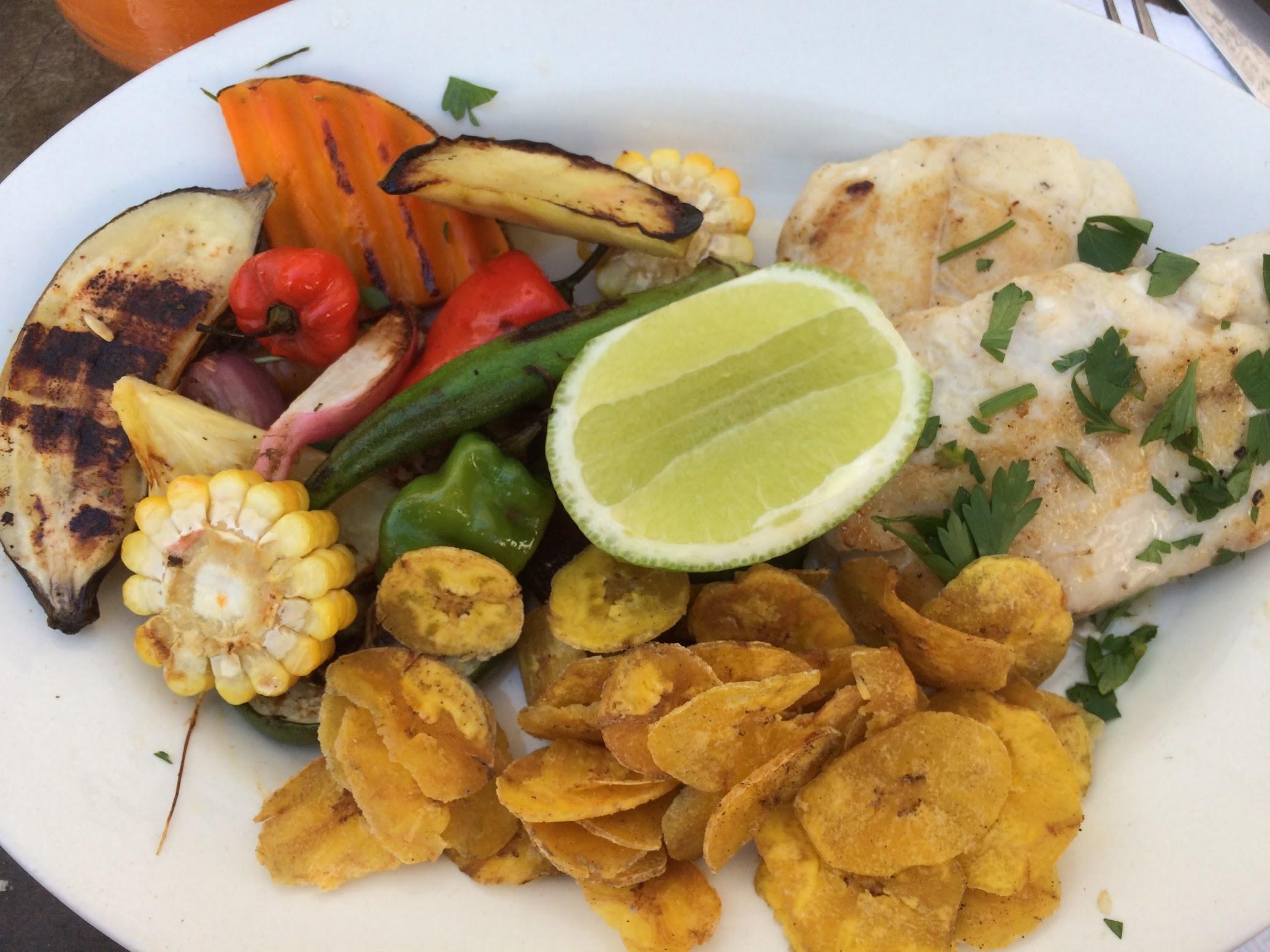 Our lunch at El Del Frente.