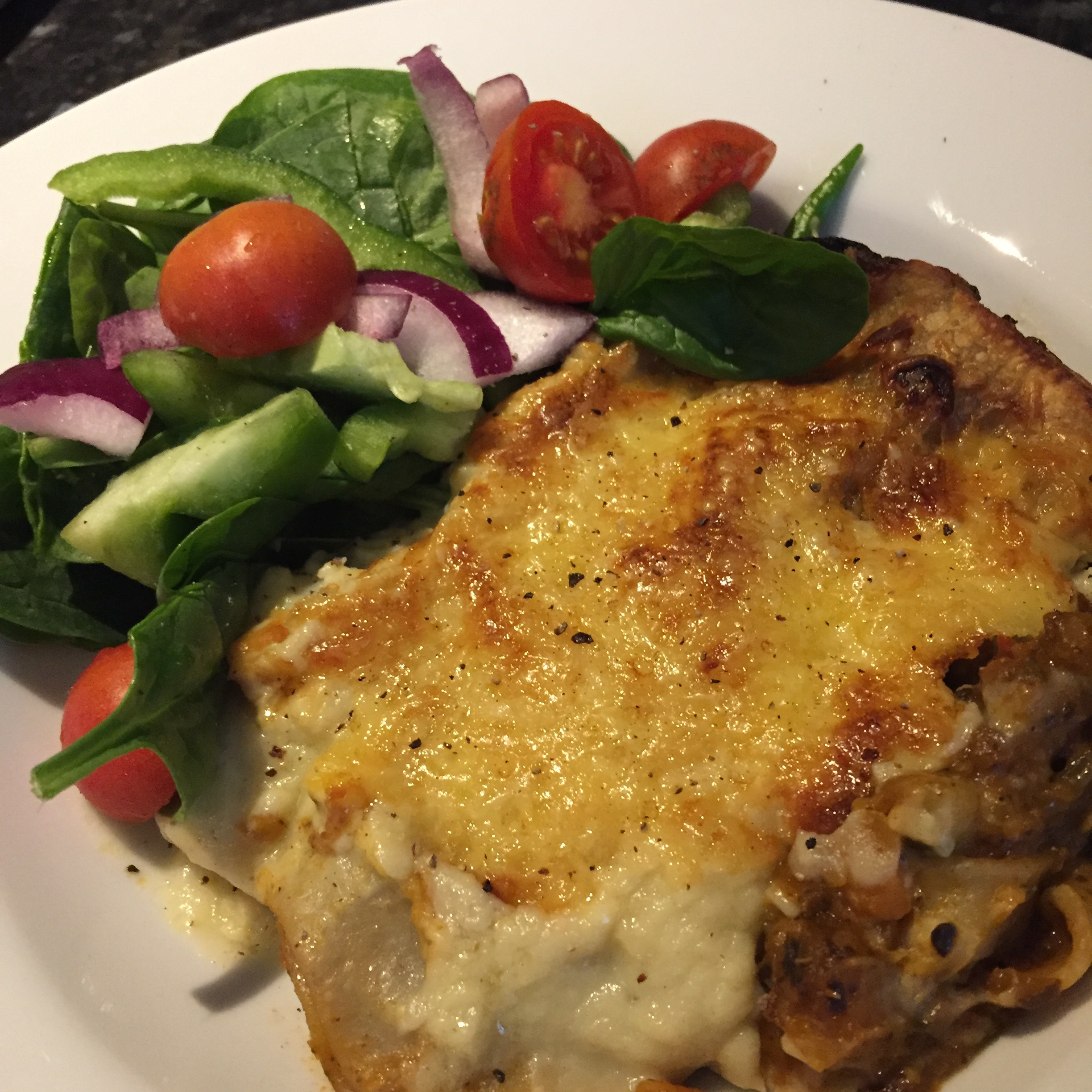 Thermobexta's Very Vege Lasagne