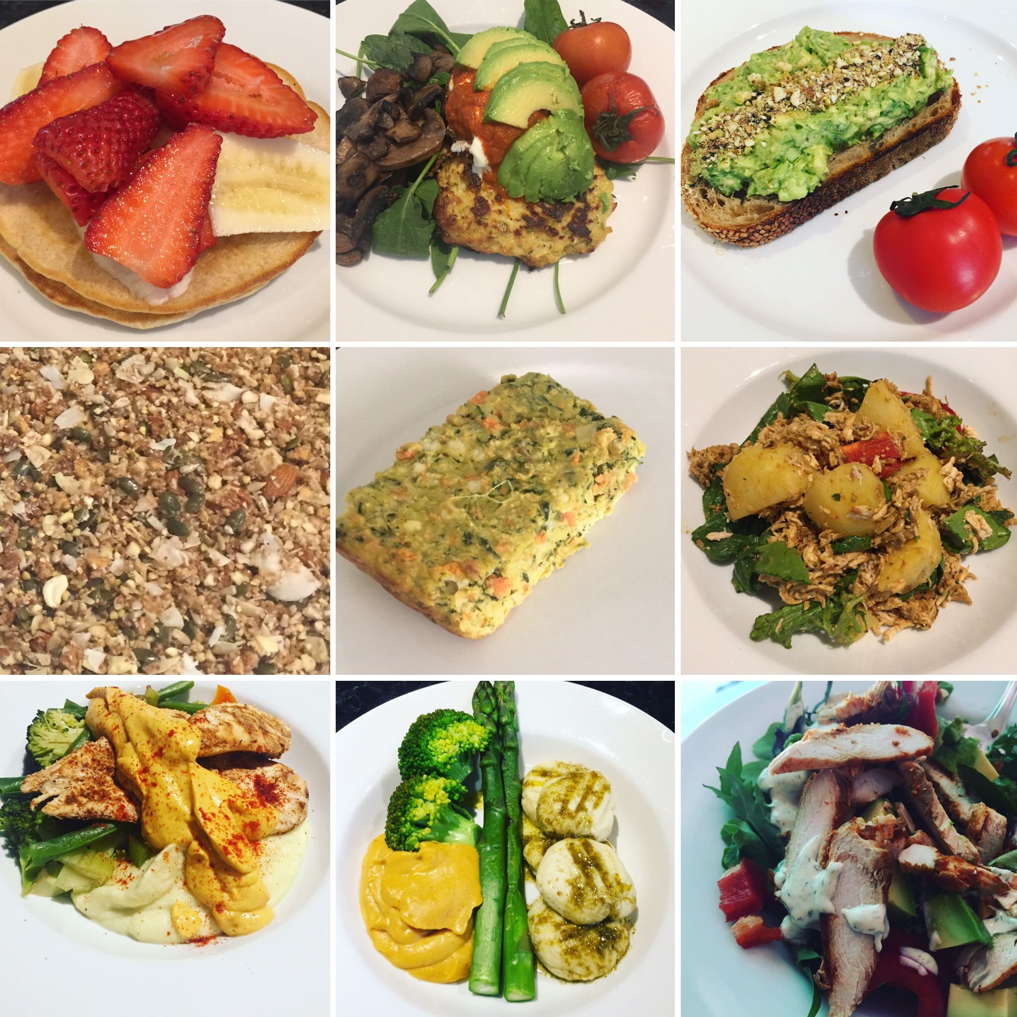 Some of this weeks meals