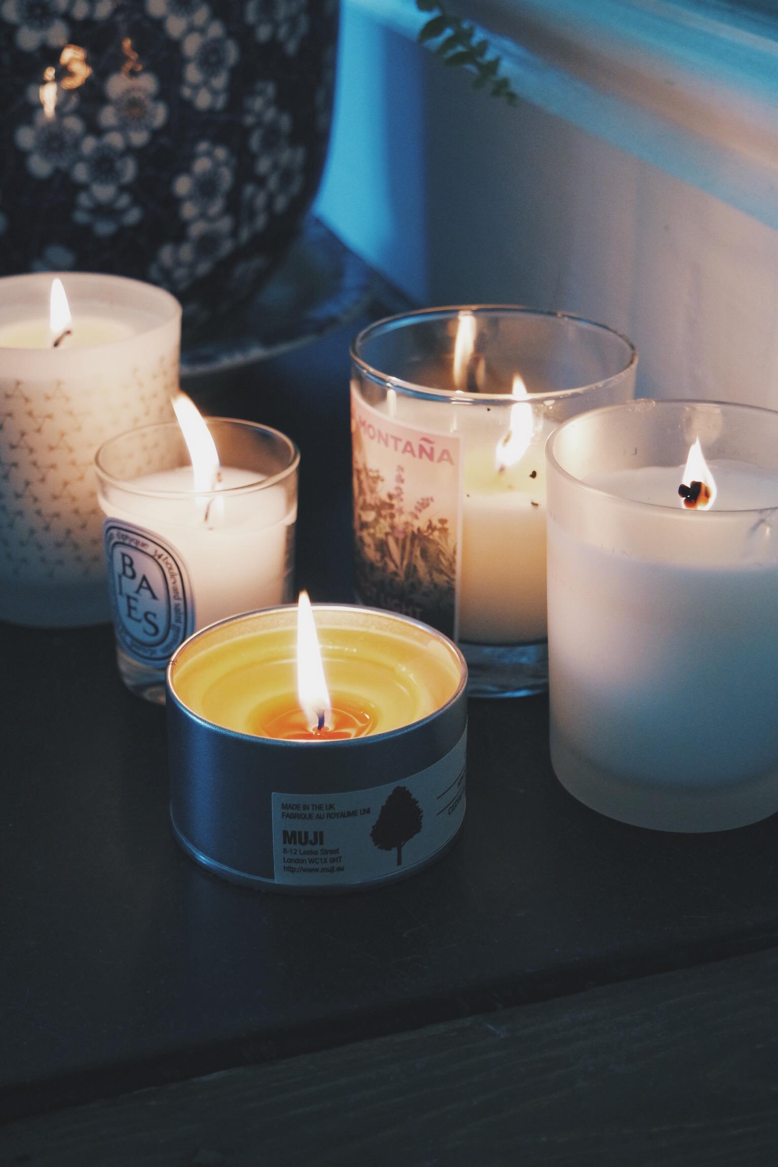 THE SUNDAY ESSENTIAL : LINARI Malva Candle*