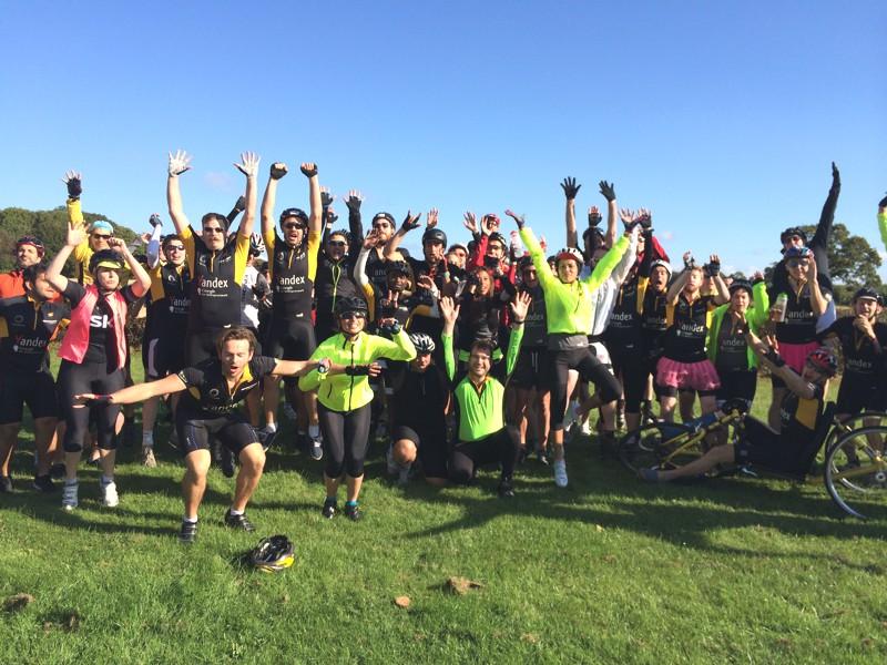 Techbikers, cycling London to Paris