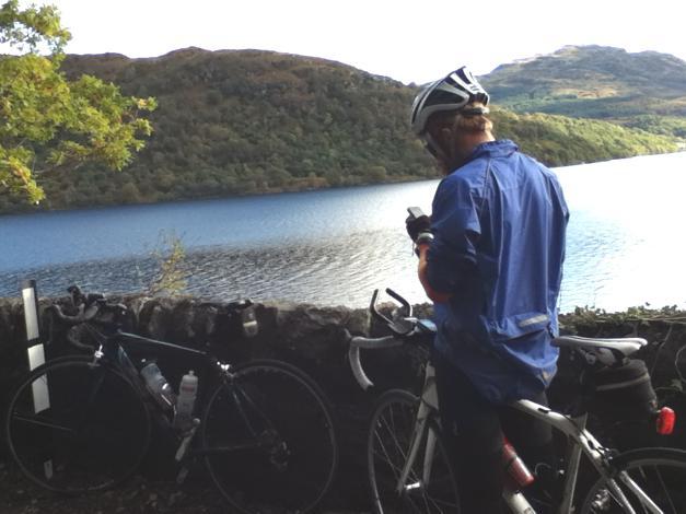 Sean by Loch Lomond