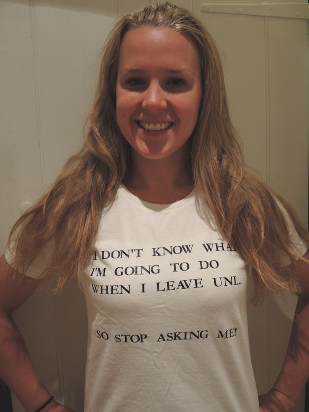 Graduating from Uni t-shirt