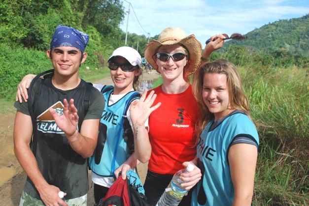 Racing through the jungles of Borneo, 2008