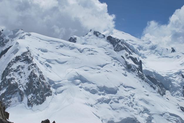Mont Blanc via the Trois Monts Route, Chamonix