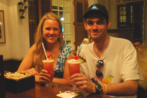 Singapore slings with Jeremy Fowler, winner of Big Blog Exchange from Canada