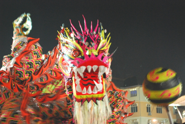 Chinese Dragon at the Lion Dance