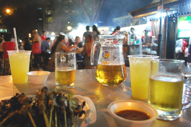 Beers and Satay